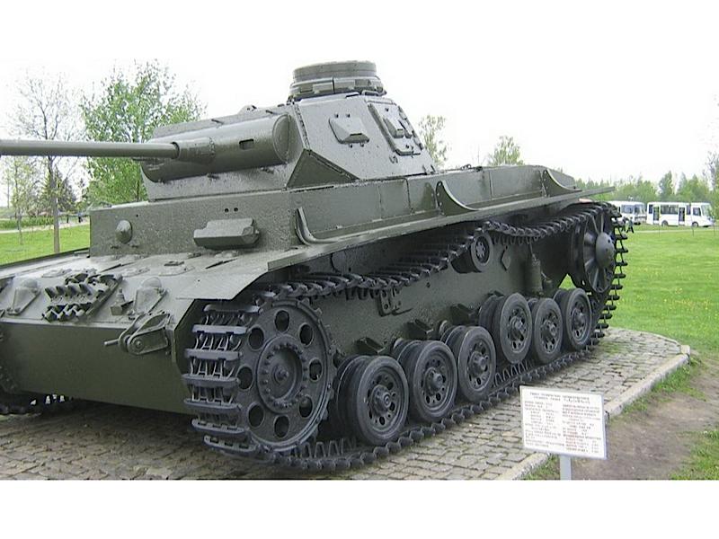 Panzer III Ausf.G - Omrknout