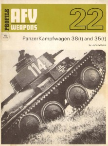 Panzerkampfwagen 38t and 35т - AFV Оръжия 22