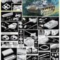 Pz.Kpfw.III Ausf.M w/Brodenie Šál - DML 6558