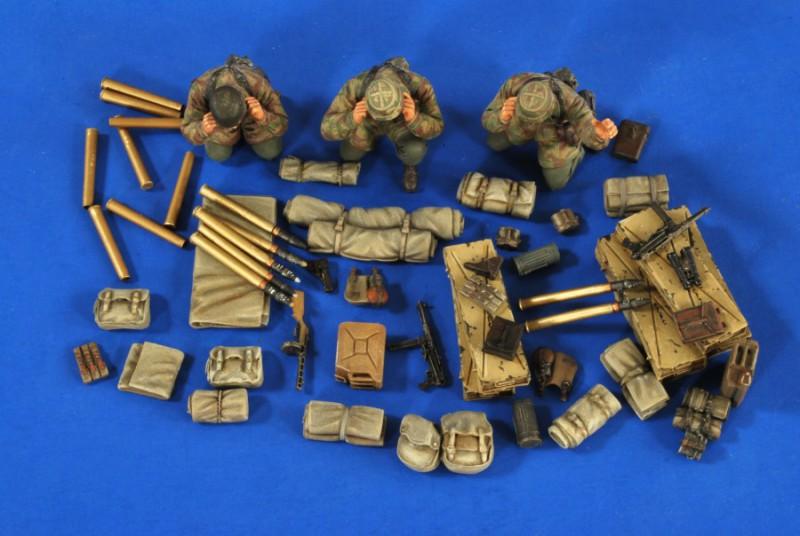 RSO Pak 75mm Stowage-Ammo-Crew - Verlinden 2679