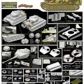 Sd.Kfz.181 Pz.Kpfw.VI Ausf.E Tiger I - Cyber Hobi 6650