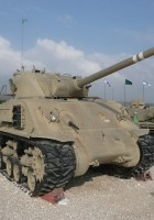 Super Sherman M-50 - Caminar