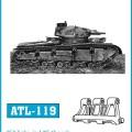 Tracks for Neubaufahrzeug - Friulmodel ATL-119