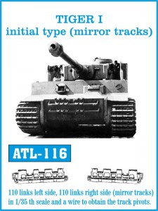Tracks for TIGER I initial type - Friulmodel ATL-116