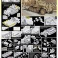 1/35 Sd.Kfz.10/5 w/Obrnené Kabíny kožušiny 2 cm FlaK - DML 6677