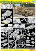 1/35 Sd.Kfz.10/5 w/Blindés de la Cabine de fourrure 2cm FlaK - DML 6677