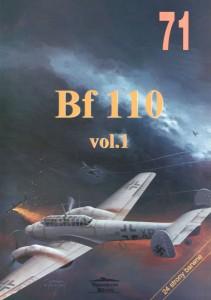 Messerschmitt Bf 110 - Wydawnictwo Militaria 071