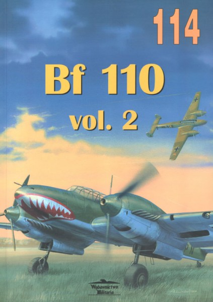 メッサーシュミットBf110vol2-Wydawnictwo Militaria114
