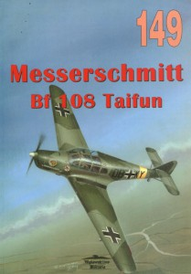 Messerschmitt Bf108 Tajfun - Wydawnictwo Militaria 149