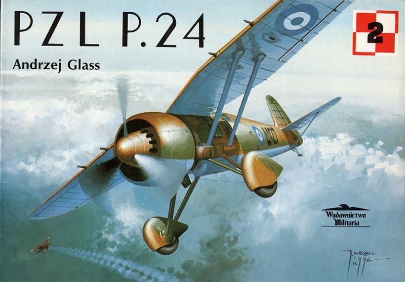 PZL P. 24 - Wydawnictwo Militaria 002 - Livre