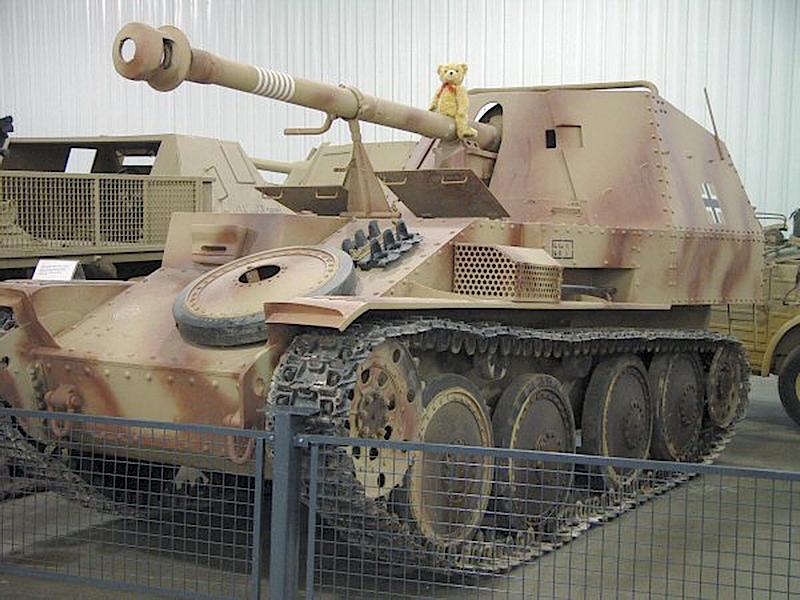 Sd.Kfz.138 Ausf.M Marder III - interaktív séta