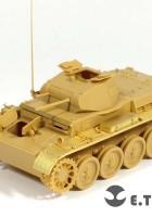 WOII duitse Pz.Kpfw.II Ausf.D1 - E. T. MODEL E35-107