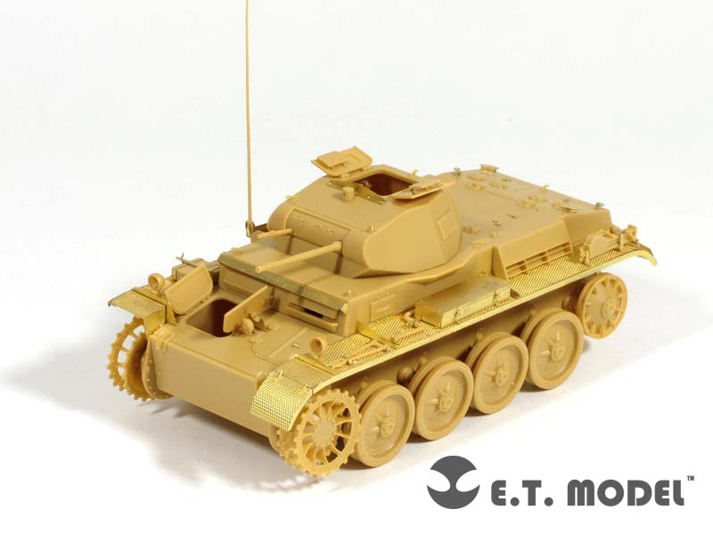 WWII German Pz.Kpfw.II Ausf.D1 - E. T. MODEL E35-107