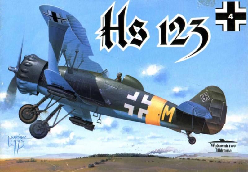 Henschel HS123 - обраду Милитариа 004