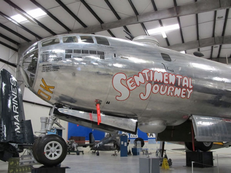 Boeing B-29 Superfortress-Vesting