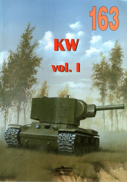 Chars KW - Kliment Voroshilov Vol 1 - Editorial 163