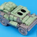 Dingo MK III Scout Car accessories set - Μαύρο Σκυλί T35061