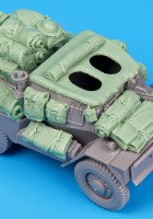 Dingo MK III Felderítő Autó tartozékok szett - Fekete Kutya T35061