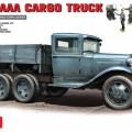 GAZ-AAA Krovinių Sunkvežimių MINIART 35127