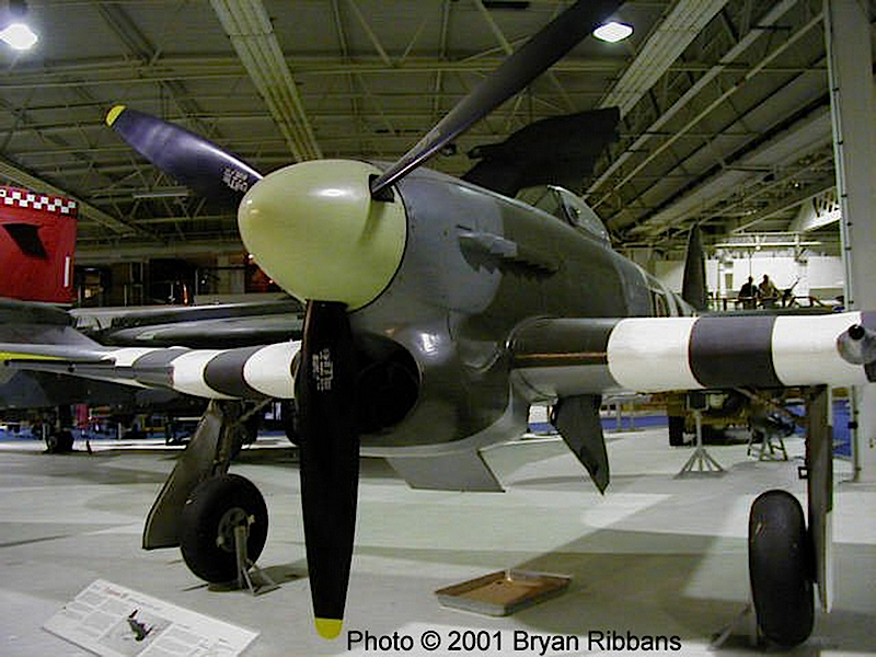 Hawker Typhoon - Разходка