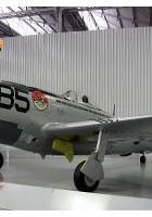 P-47D Thunderbolt išorinis sukamaisiais apžiūra