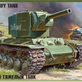 Carro armato sovietico KV-2 - Zvezda 3608