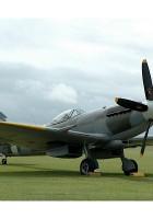 Spitfire FR XVIII-прогулка вокруг