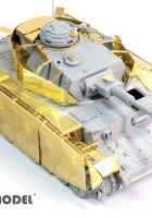 La seconde GUERRE mondiale allemand Pz.Kpfw.IV Ausf.J de Base - E. T. MODÈLE E35-089