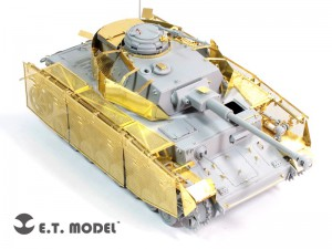 WWII German Pz.Kpfw.IV Ausf.J Basic - E. T. MODEL E35-089