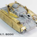 WWII saksan Pz.Kpfw.IV Ausf.J Schurzen - E. T. MALLI E35-091
