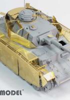 Tysk WWII Pz.Kpfw.IV Ausf.J Schurzen - E. T. MODEL E35-091
