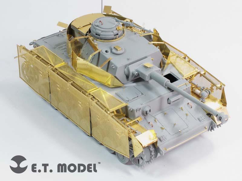 Světové VÁLKY německá Pz.Kpfw.IV Ausf.J Schurzen - E. T. MODEL E35-091