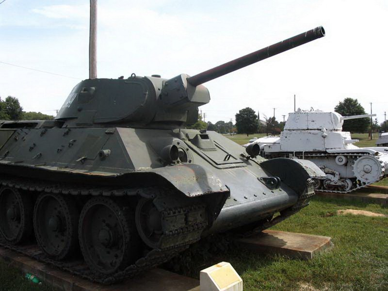 Char T-34/76 Μοντέλο 1941 vol3 - Περιήγηση