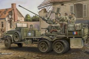 GMC Bofors 40mm Gun - HOBBY BOSS 82459