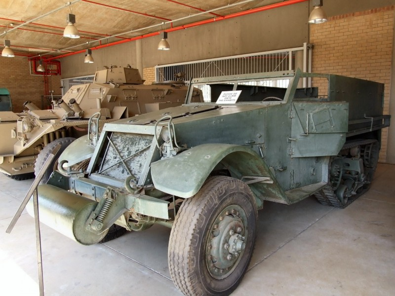 M9A1 HalfTrack - WalkAround