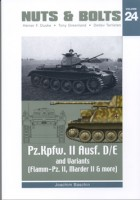 Pz II, D/E ο μάρντερ II D - FlammPz II - Nuts & Bolts 24