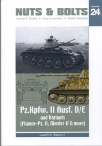 Pz II D/E Marder II D - FlammPz II - Nuts & Bolts 24