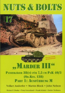 Pz.Cazador Marder III Ausf. M - Sd.Automóvil. 138 - Nuts & Bolts 17