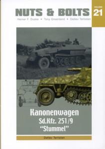 Sd.Bil. 251/9 Kanon Bil - Nuts & Bolts 21