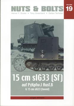Sfl. Pz.I Ausf. B & 15 cm sIG 33 - Nuts & Bolts 19