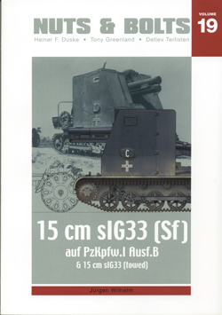 Sfl. Pz.I Ausf. B & 15 cm sIG 33 - Pähkinät & Pultit 19