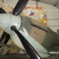 Spitfire Mk XVI - Caminhada em Torno