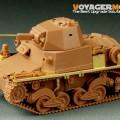 Druhé světové VÁLKY ITÁLIE Carro Armato L6/40 - VOYAGER MODELU PE35214