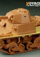 WWIIイタリアCarro Armato L6/40-旅行モデルPE35214