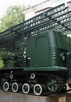 BM-13 Katyusha STZ-5 NATI - Caminhada em Torno