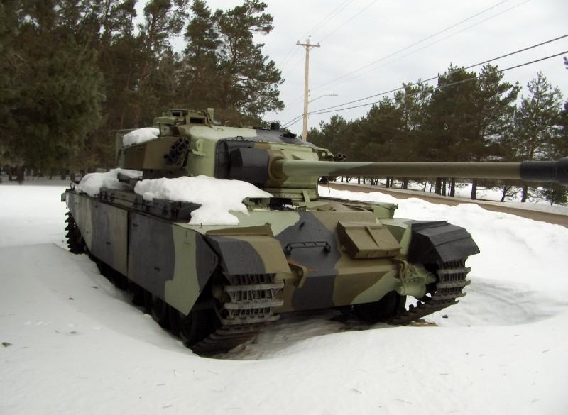 Centurión Mk5 - Caminar