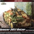 Jagdpanzer 38(t) Hetzer [Late Production Version] ACADEMY 13230