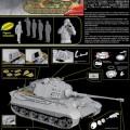 Maquette King Tiger Henschel, Cyber Hobby 6662