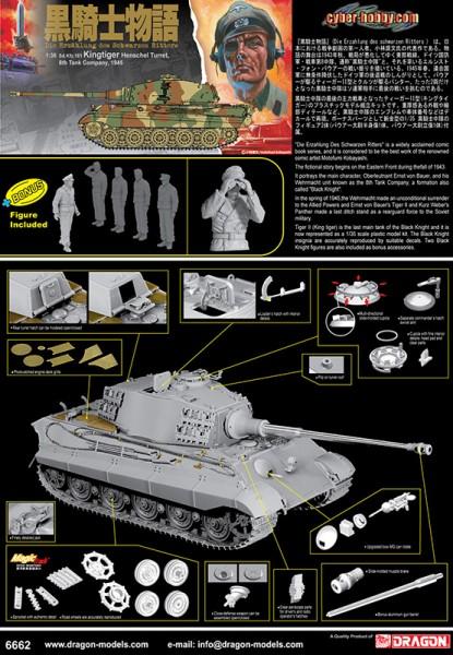 Model Kingtiger Henschel - Cyber Hobby 6662