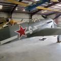Yak-3МА - walkaround z żaglem